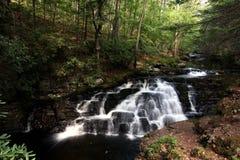 Bushkill-Fälle, Pennsylvania, USA Stockbild