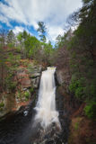 Bushkill Falls from above Stock Image