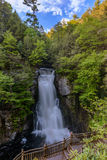 Bushkill waterfall a Stock Photo