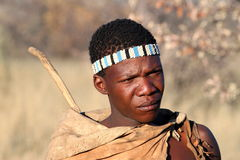 Bushman of Botswana Royalty Free Stock Photos
