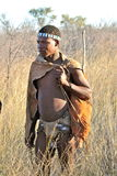 Bushman of Botswana Royalty Free Stock Images