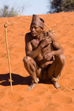 Bushman Royalty Free Stock Image