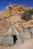 Bushman dwelling - Damaraland - Namibia Royalty Free Stock Photos