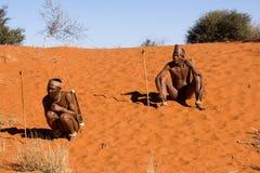 Bushman family Stock Photography