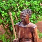 Bushman fretwork Stock Image
