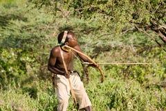Bushman Hadzabe Stock Images