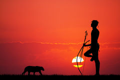 Bushman Stock Photography
