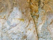 Bushman Rock Art in Ha Khotso royalty free stock photography