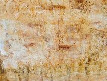 Bushman Rock Art in Ha Khotso stock images