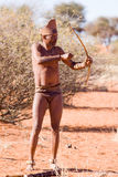 Bushman san hunter Royalty Free Stock Photo