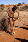 Bushman sun Royalty Free Stock Photos