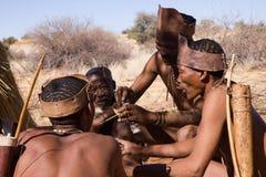 Bushmen Stock Photography