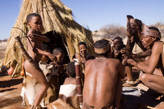 Bushmen Royalty Free Stock Photos