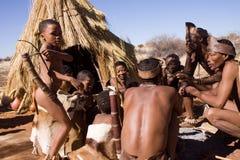 Bushmen Royalty Free Stock Photos