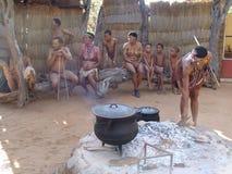 Bushmen people Royalty Free Stock Images