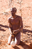 Bushmen san Royalty Free Stock Photo