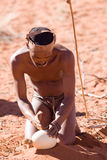 Bushmen san Stock Image