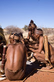 Bushmen san Stock Photos