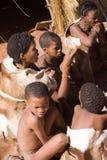 Bushmen san Royalty Free Stock Images