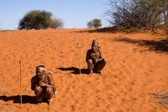 Bushmen san Stock Photos