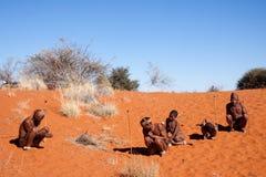 Bushmen san Royalty Free Stock Image