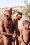 Bushmen san Stock Photography
