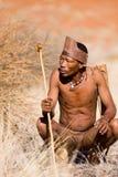 Bushmen sun Stock Photo