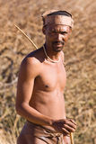 Bushmen sun Stock Photos