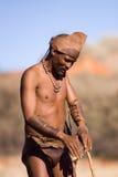 Bushmen sun Stock Images