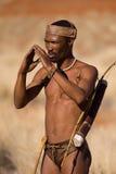 Bushmen sun Royalty Free Stock Photo