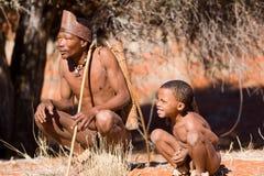 Bushmen sun Royalty Free Stock Image