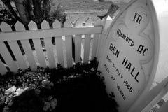 Bushranger Grave Royalty Free Stock Photos