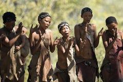 Bushwoman Сан стоковые изображения rf