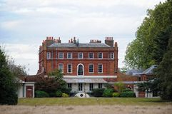 Bushy House, National Physical Laboratory, UK. Bushy House, a former royal residence inTeddington, South West London, on the site of the National Physical Royalty Free Stock Image