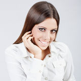 busiesswoman счастливое стоковые фото