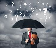 Business question Royalty Free Stock Image