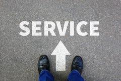 Busine de contact de services d'aide d'aide de soutien de service client photo libre de droits