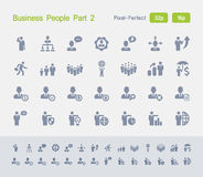 Businee People Part 2 | Granite Icons stock illustration