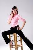 Businees Frau, die Vertrauen schaut Lizenzfreies Stockfoto