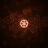 Busines Gears Concept Background Stock Image