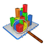 Busines graph Royalty Free Stock Photo