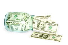 Busines and money concept Royalty Free Stock Photos