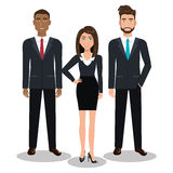 Busines people design Royalty Free Stock Photography