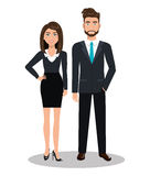 Busines people design Stock Images