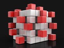 Busines teamwork concept Stock Photos