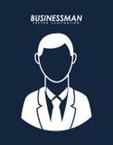 Businesman avatar Stock Images