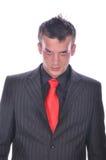 Businesman in elegant suit Stock Photo