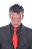Businesman in elegant suit Stock Image