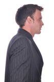 Businesman in elegant suit Royalty Free Stock Photo