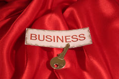 Business. The key to business stock image